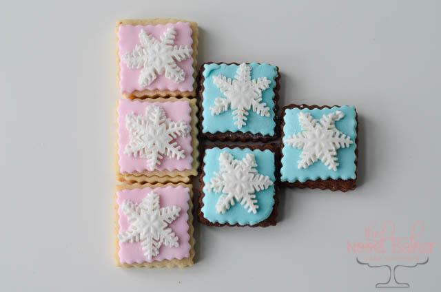 Pastel Fondant Cookies