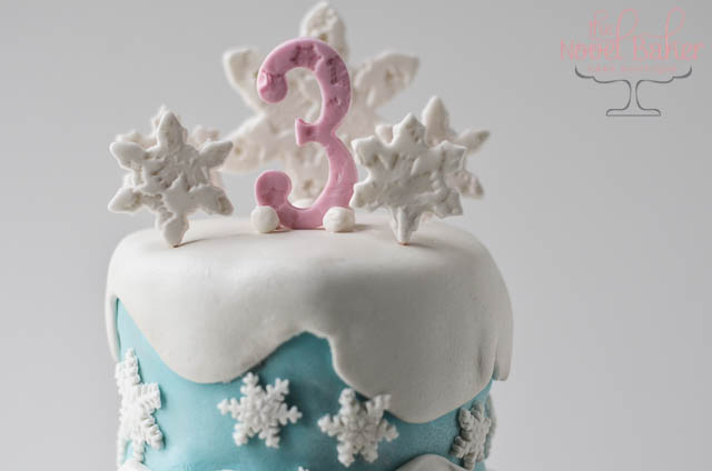 Winter Birthday Cake