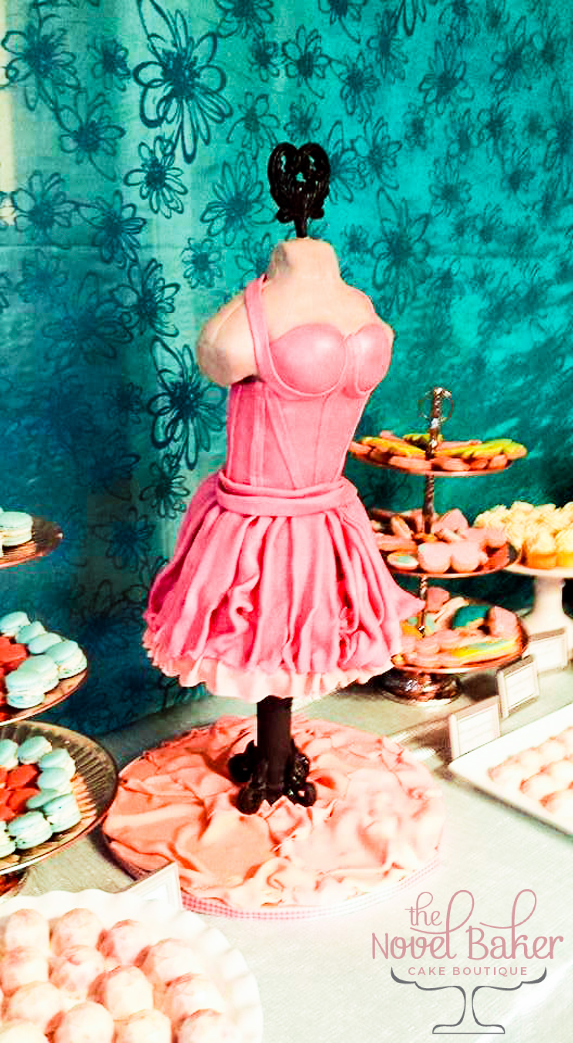 3D Pink Mannequin Dress