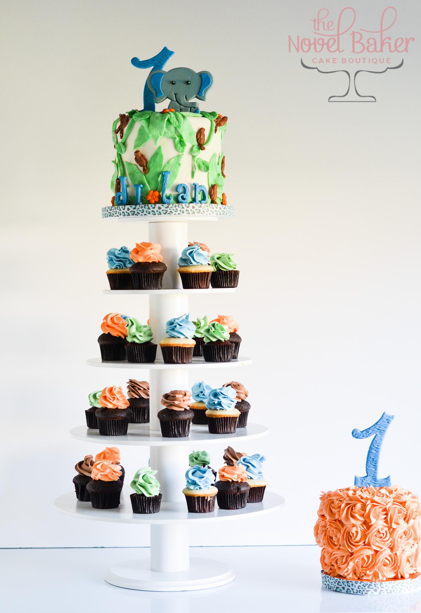 Baby Elephant Cake Topper Thenovelbaker