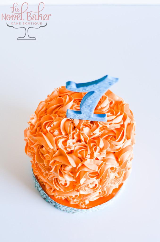 Jungle Tower Orange Smash Cake